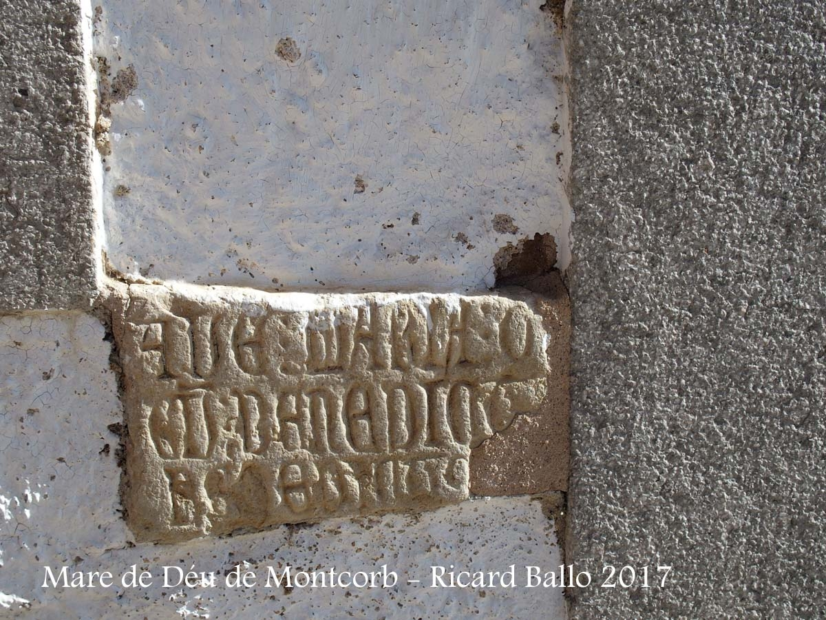 Capella de la Mare de Déu de Montcorb – Riudarenes