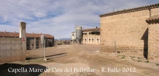 Capella de la Mare de Déu del Bellvilar - Entrada al terreny on està ubicada