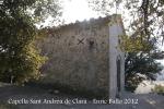 Capella de Sant Andreu del castell de Clarà