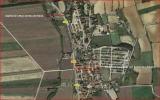 Santuari de la Mare de Déu de Gràcia / Capella de Sant Antoni de la Salvetat - MAPA de situació d'ambdúes edificacions - Captura de pantalla de Google Maps, complementada amb anotacions manuals