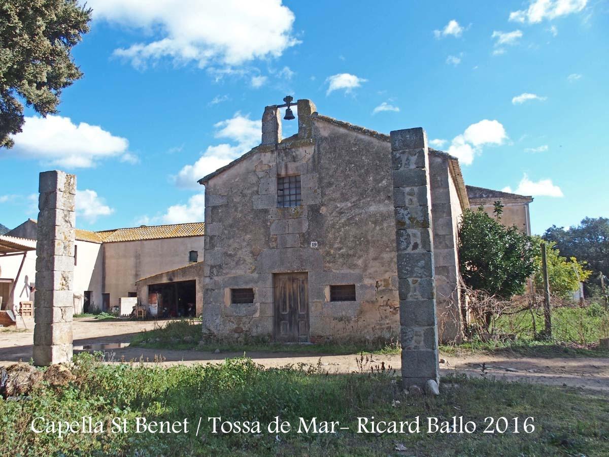 Capella de Sant Benet – Tossa de Mar