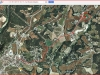 Capella de Sant Bernabé d'Aguilera – Òdena - Itinerari - Captura de pantalla de Google Maps, complementada amb anotacions manuals.