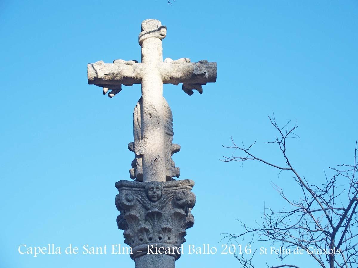 Capella de Sant Elm – Sant Feliu de Guíxols - Creu de Sant Elm