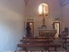 Capella de Sant Elm – Sant Feliu de Guíxols - Foto del interior obtinguda adossant l'objectiu de la màquina de fotografiar al vidre d'una finestra