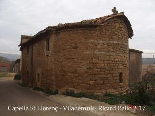 Capella de Sant Llorenç – Vilademuls