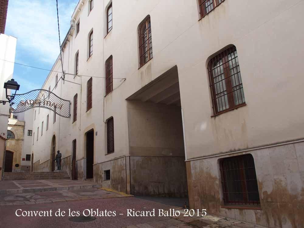 Tarragona - carrer Portal del carro - Convent de les Oblates