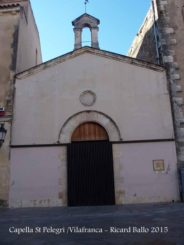Capella de Sant Pelegrí – Vilafranca del Penedès