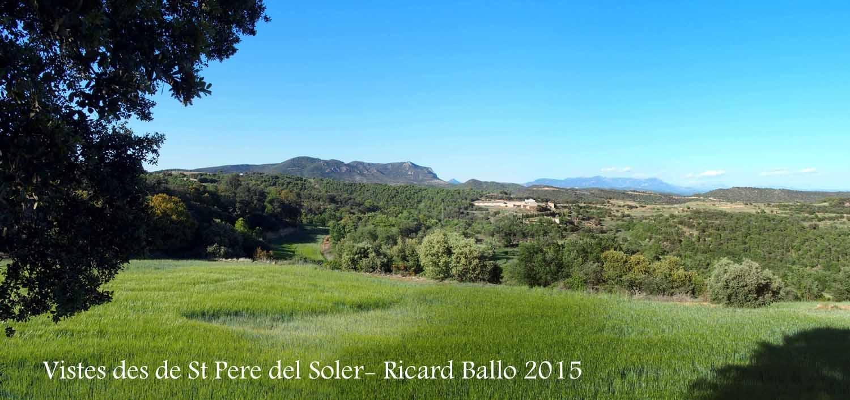Vistes des de la Capella de Sant Pere del Soler – Baronia de Rialb