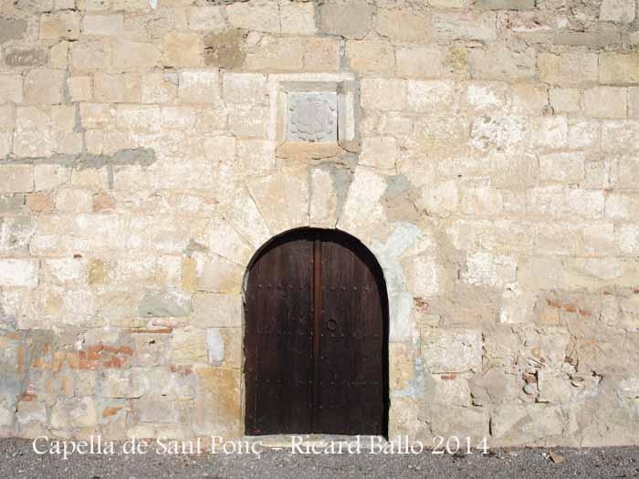 Capella de Sant Ponç - L'Arbós