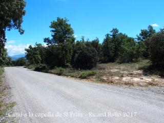Camí a la Capella de Sant Prim – Olius