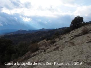 Vistes des de la Capella de Sant Roc-Sant Pere de Torelló