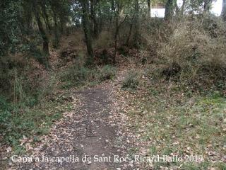 Camí a la Capella de Sant Roc-Sant Pere de Torelló - El Serrat
