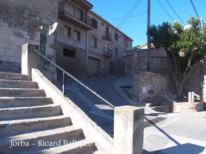 Capella de Sant Salvador-Jorba-Inici Itinerari