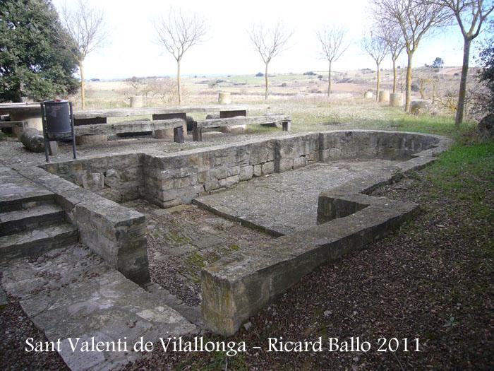 Restes de l'església romànica de Sant Valentí - Sant Martí Sesgeuioles