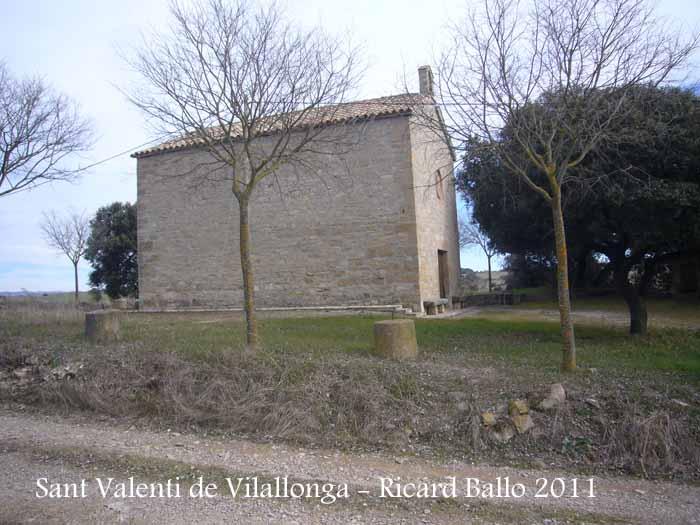 Nova capella de Sant Valentí de Vilallonga – Sant Martí Sesgueioles