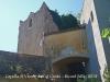 Capella de Sant Vicenç de Cal Cerdà - Aquí veiem el pas elevat que comunica la torre amb la masia.