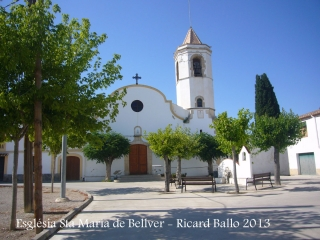 Església de Santa Maria de Bellver