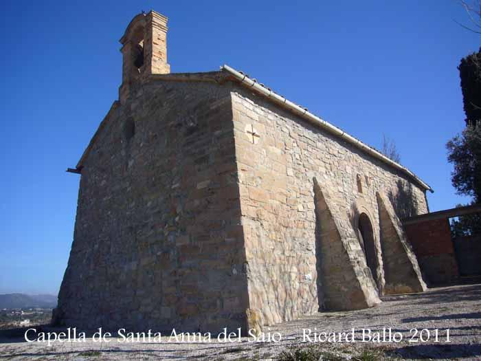 Capella de Santa Anna del Saió – Santa Margarida de Montbui