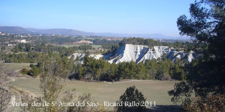 Vistes des de la Capella de Santa Anna del Saió – Santa Margarida de Montbui