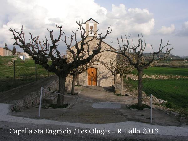 Capella de Santa Engràcia - Les Oluges.