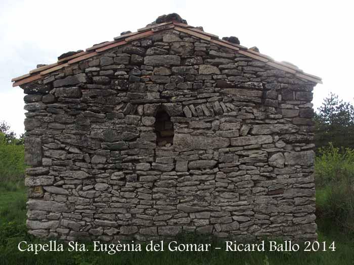 Capella de Santa Eugènia del Gomar – Moià