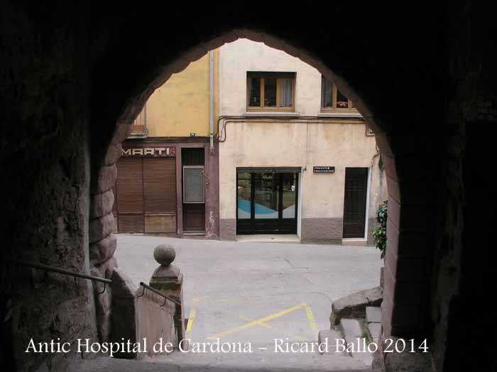 Antic Passadís de l'Hospital de Cardona