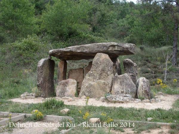 Capella de Santa Eulàlia de Pomanyons – La Baronia de Rialb - Dolmen de Sols del Riu.