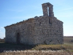 Capella de Santa Fe de Montfred – Talavera