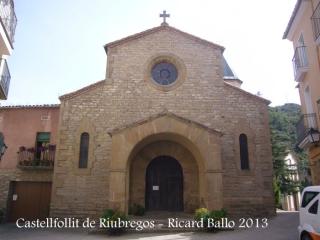 Capella de Santa Magdalena del Soler – Calonge de Segarra - Un racó de Castellfollit de Riubregós - Església de la Mare de Déu del Roser.