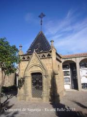 Sanaüja - Cementiri