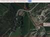 Capella de Santa Margarida de Viladepost – Castellnou de Bages - Itinerari - Captura de pantalla de Google Maps, complementada amb anotacions manuals.