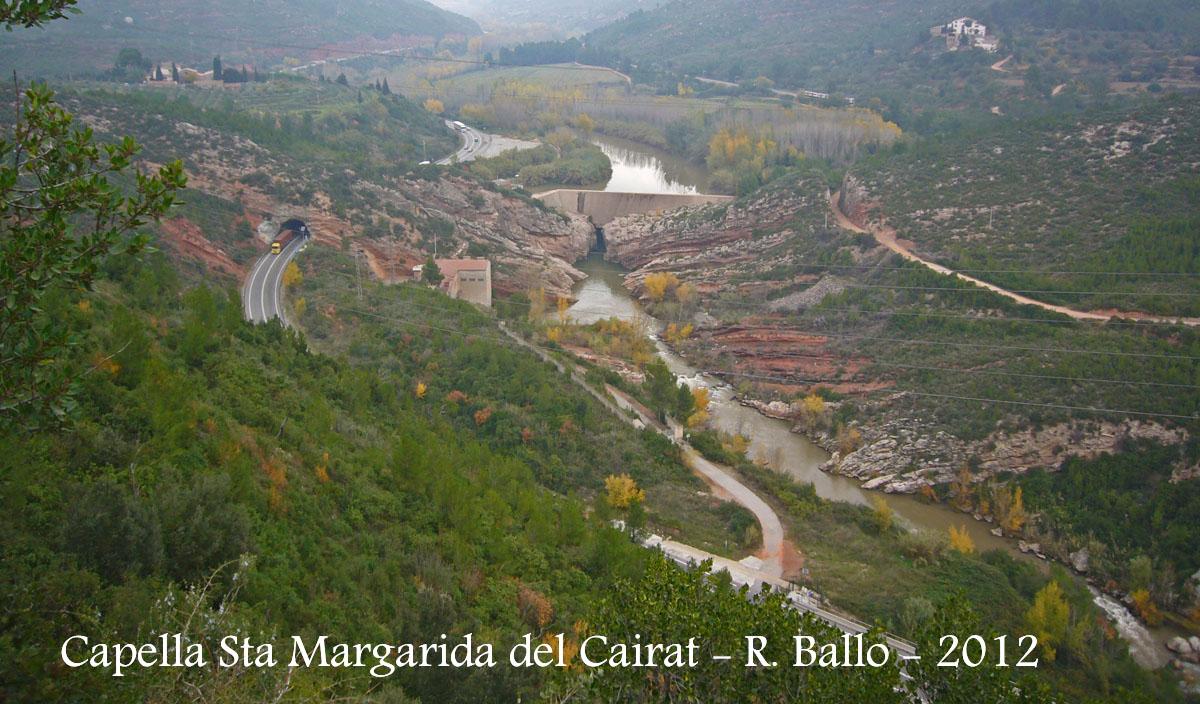 Vistes des de la capella de Santa Margarida del Cairat - Esparreguera.