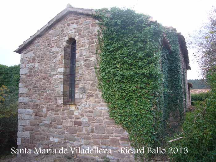 Capella de Santa Maria de Viladelleva – Callús - Absis.