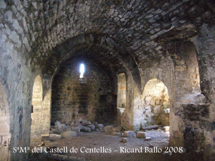 Capella de Santa Maria del Castell de Centelles – Sant Martí de Centelles