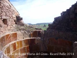 Capella de Santa Maria del Grau – Fonollosa - Tines del mas el Grauet.