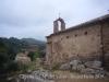 Capella Sª Maria del Villar - Bigues i Riells. A l'esquerra, de la fotografia, apareix el Casal del Villar.