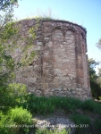 Capella de Sant Miquel de Vilaclara - Absis.