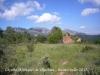 Vistes des del costat de la Capella de Sant Miquel de Vilaclara - Al fons, la muntanya de Montserrat.