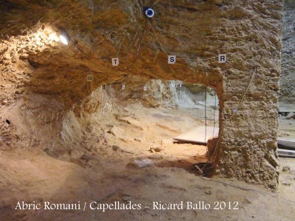 Capellades - Abric Romaní