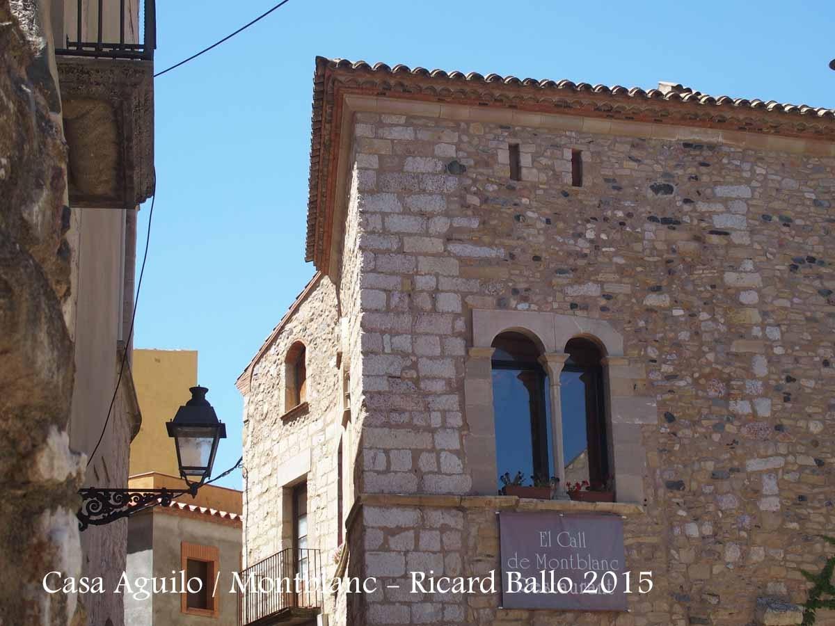 Casa Aguiló - Montblanc