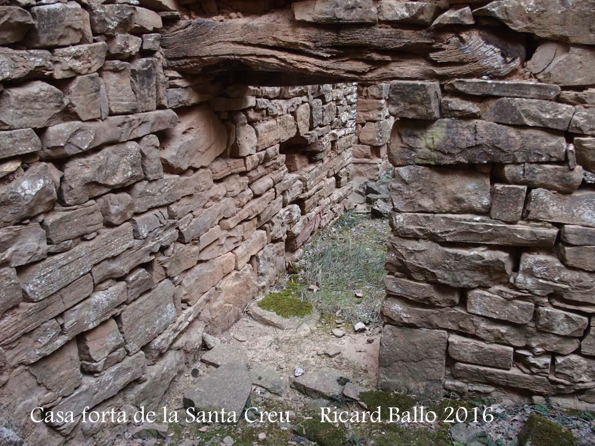 Casa Forta de la Santa Creu – Artesa de Segre - Interior