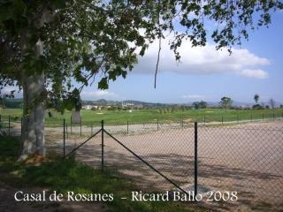 Casal de Rosanes - La Garriga - Camp de golf.