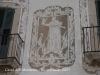 Casal dels Montoliu - Detall d\'un esgrafiat.