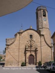 Alcanó - Església parroquial de Sant Pere