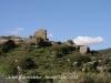 Vistes del Castell d'Almudèfer, des del camí d'accés, cap al final del recorregut - Torre.