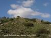 Vistes del Castell d'Almudèfer, des del camí d'accés, cap al final del recorregut - Castell.