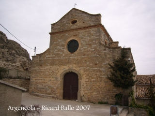 Argençola-Església de Sant llorenç