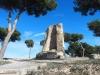 Restes del castell de Banyeres del Penedès