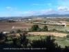 Vistes del Penedès des de les restes del castell de Banyeres