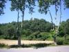 Castell de Bellpuig - Entorn. Vista des de la carretera de Vilalleons.